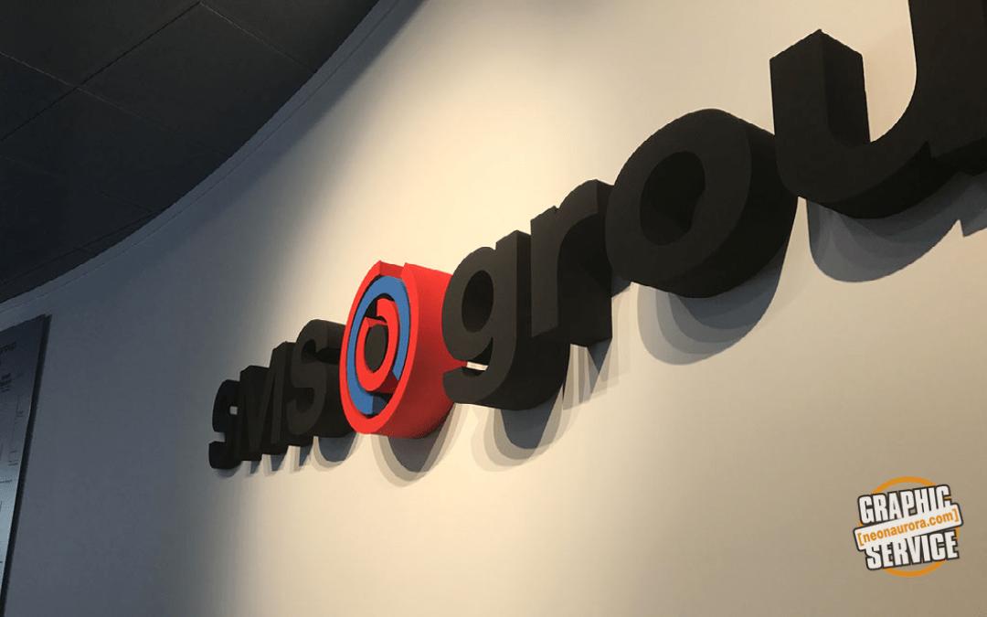 Scritta Polistirolo 3D  (polistirene espanso)