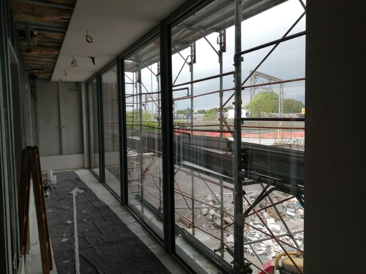 vetrate prima della posa