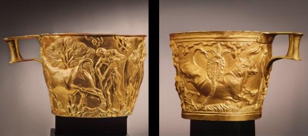 Mycenaen Vaphio Cups Neon Hero