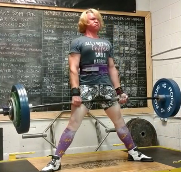 transgender weightlifter mary gregory smashes several women s records in a day