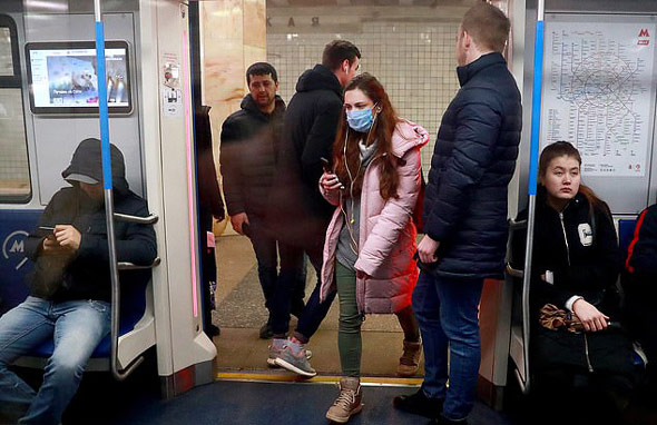 the coronavirus can be picked up on your shoes from busy areas such as public transport