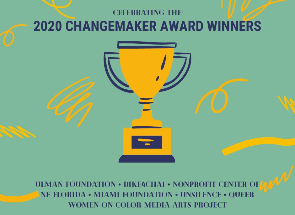 Neon One's 2020 Changemaker Award Winners