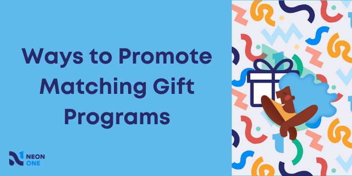ways to promote matching gift programs