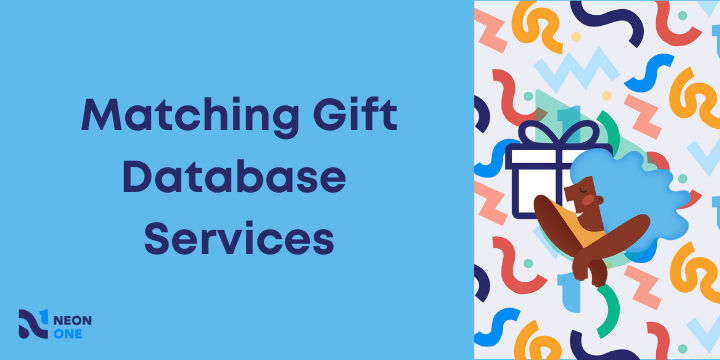 matching gift database services