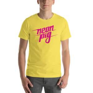 Neon Pig – Wordmark Tee
