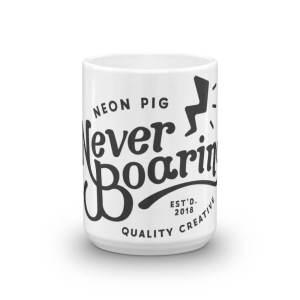 NeverBoaring Mug