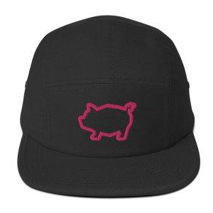 Five Panel Pig Cap