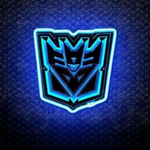 Transformers Decepticons 3D Neon Sign