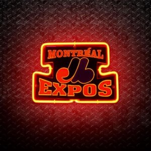 Montreal Expos Canadian Baseball 3D Neon Sign
