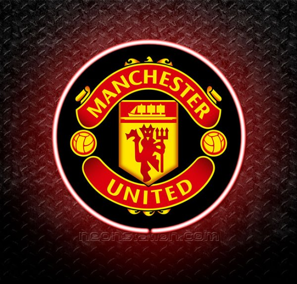 Manchester United 3D Neon Sign