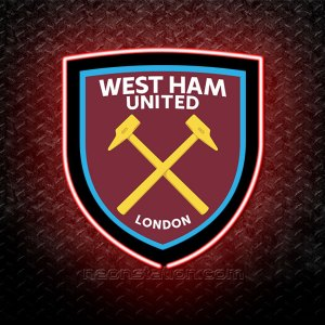 West Ham United FC 3D Neon Sign