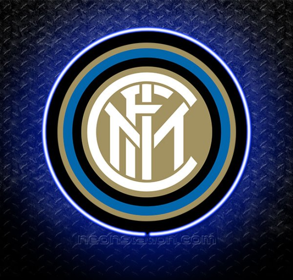 Inter Milan 3D Neon Sign