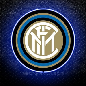 Inter Milan 3D Neon Sign