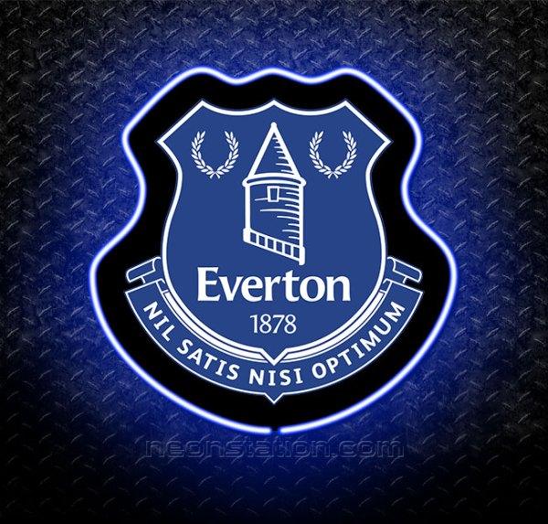Everton FC 3D Neon Sign