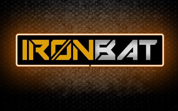Ironbat 3D Neon Sign