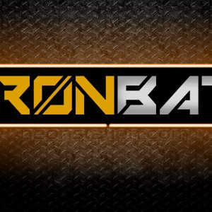Ironbat 3D Neon Sign