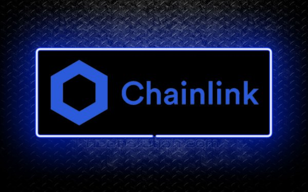 Chainlink 3D Neon Sign