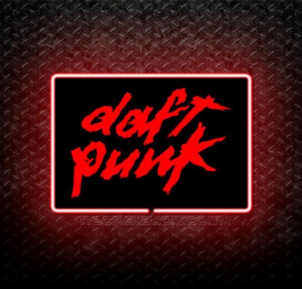 Daft Punk 3D Neon Sign