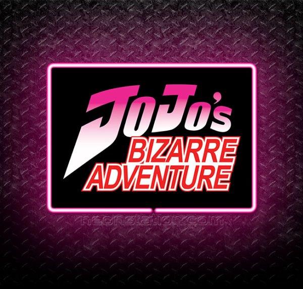 Jojo's Bizarre Adventure 3D Neon Sign