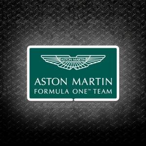 Formula One F1 Aston Martin Cognizant 3D Neon Sign