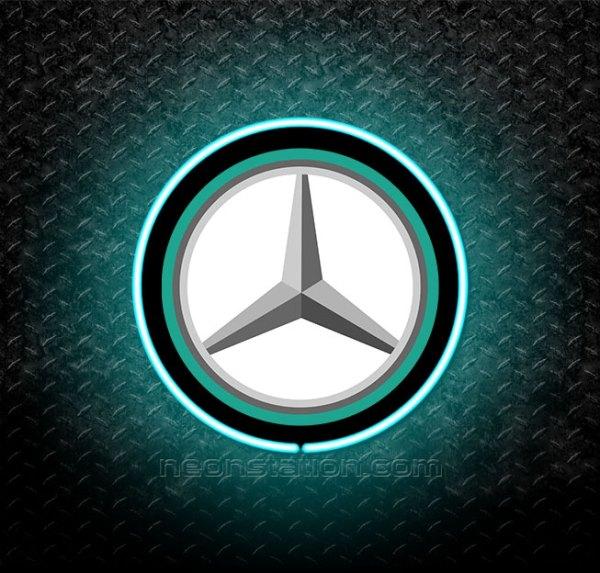 Mercedes AMG Petronas Formula 1 3D Neon Sign