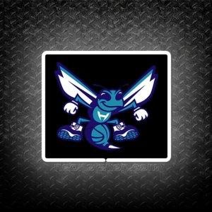 NBA Charlotte Hornets Secondary 3D Neon Sign