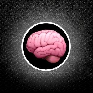 Brain Emoji 3D Neon Sign