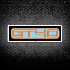 Ford GT40 3D Neon Sign