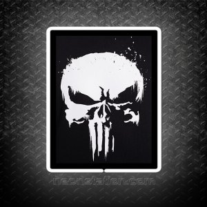 The Punisher 3D Neon Sign