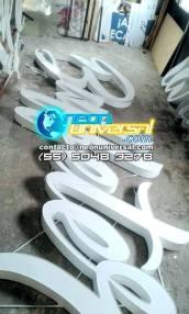 Letreros de lámina con carátula de acrílico (2)