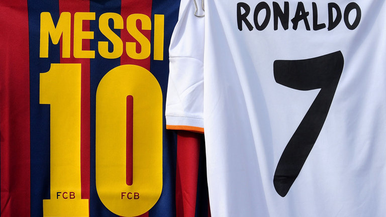 How many goals does Cristaino Ronaldo and Lionel Messi scored in their career?