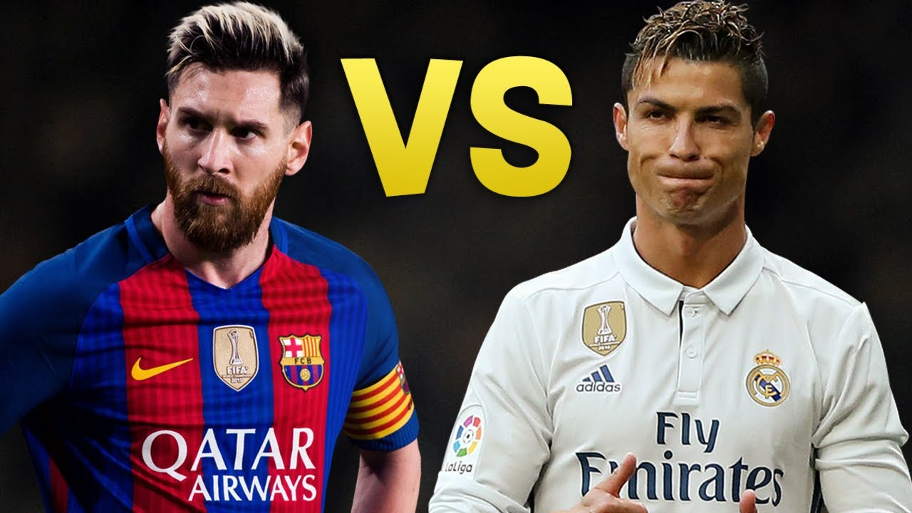 official photos ca5c0 c3881 Cristiano Ronaldo Vs. Lionel Messi: Red Card and Yellow Card ...