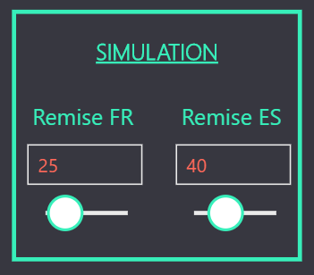 Segments simulation