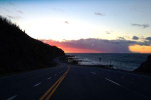 Route 132 en Haute-Gaspésie
