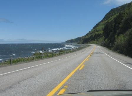 Route 132 - Haute-Gaspésie
