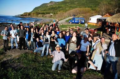 5 à 7 en Haute-Gaspésie pour la journée de la Gaspésie et des Îles-de-la-Madeleine, 2013