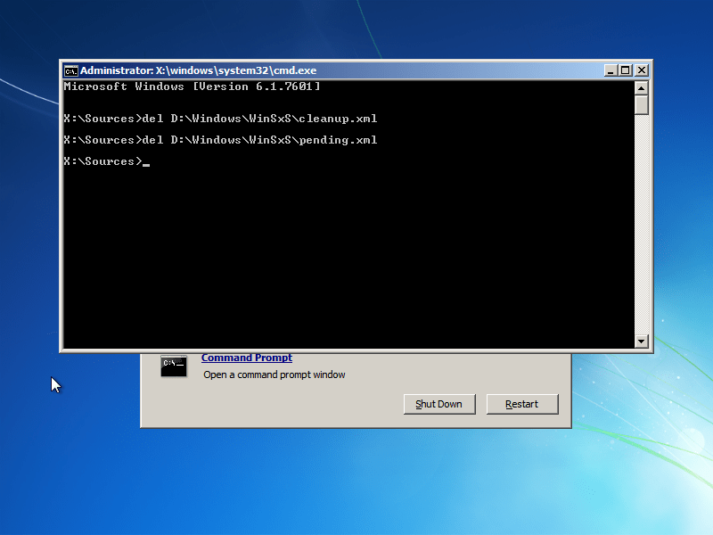 failure configuring windows updates windows 7