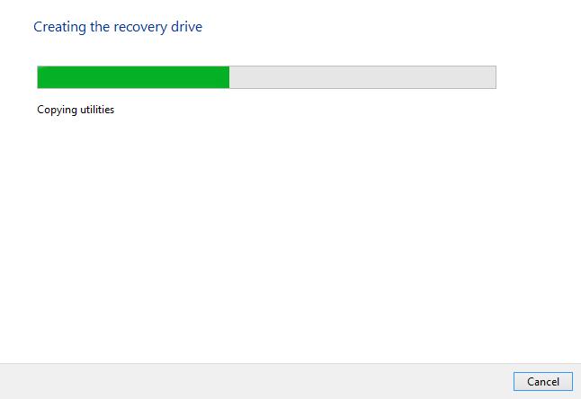 Windows 8 - Create disc progress bar