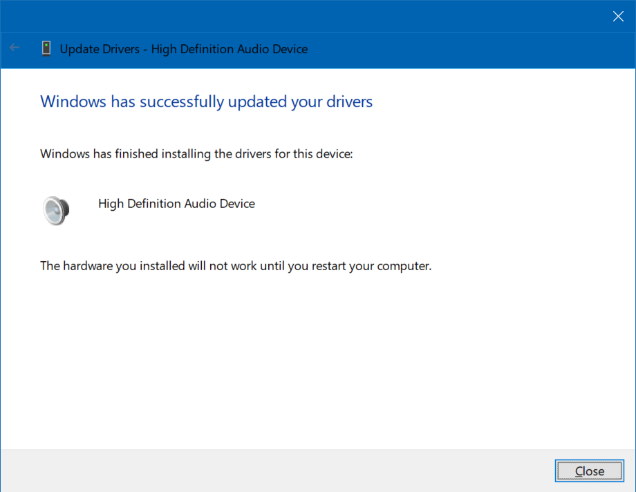 Fixing Realtek audio driver lag on Windows 10