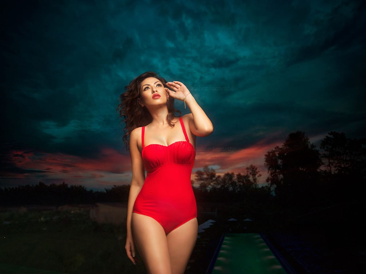 Swimsuit from Lipsy Collection