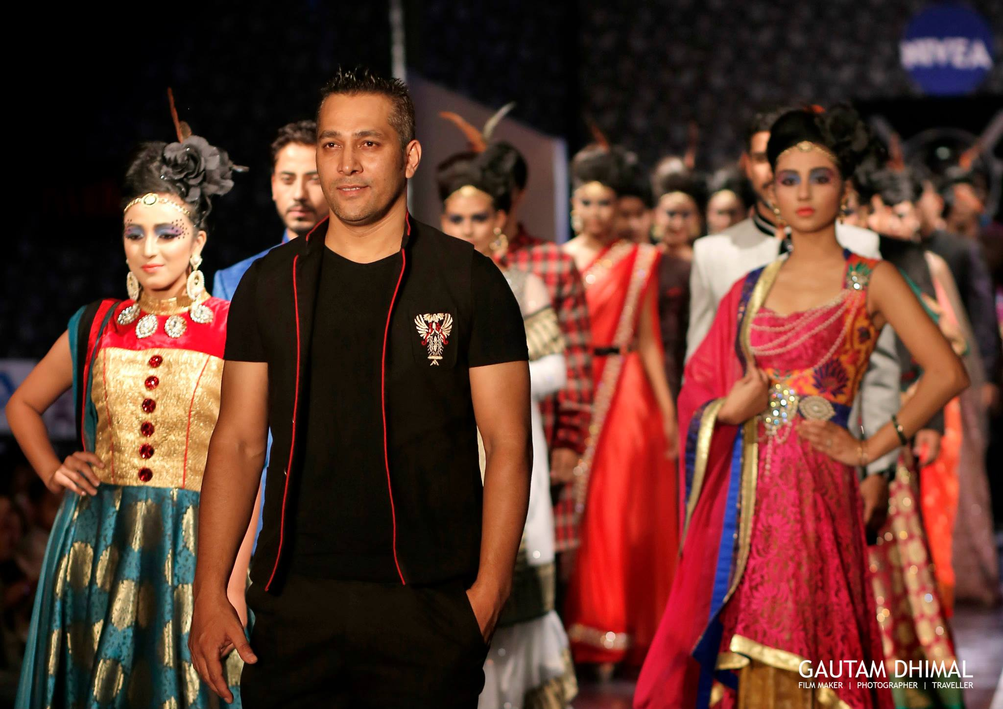 CHOREOGRAPHER & EVENT MANAGER Prasant Tamrakar WITH MODELS