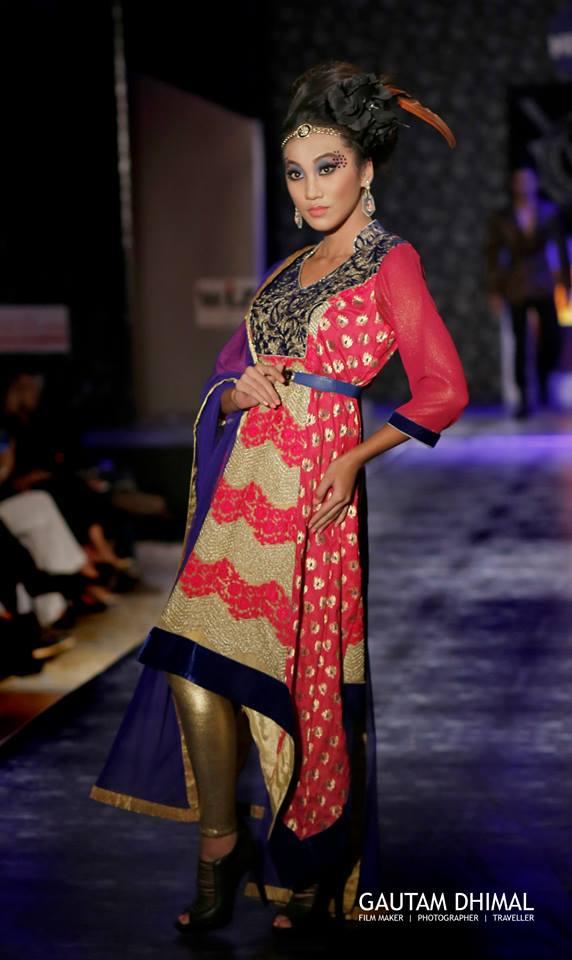 Paramita Rl Rana IN FUSION WEAR