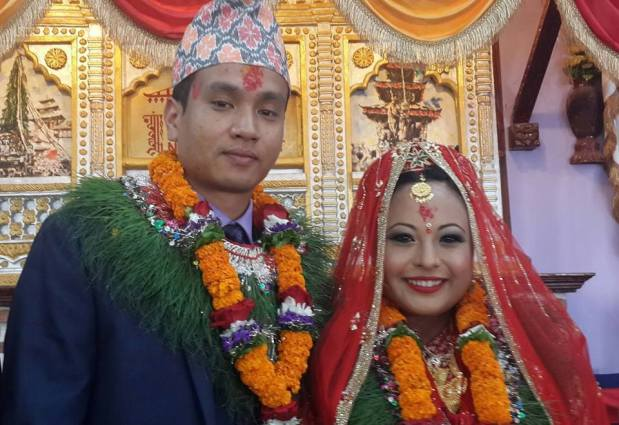 Fashion Designer Subexya Bhadel Ties The Knot Photo Gallery