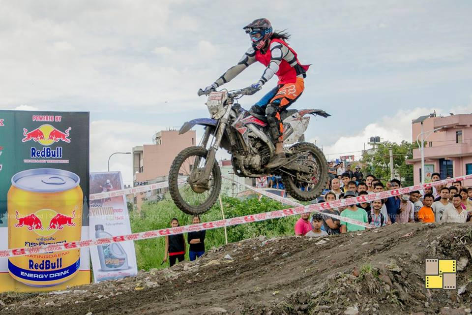In Pictures Crossmandu 2016 The First Off Road Dirt Bike Racing