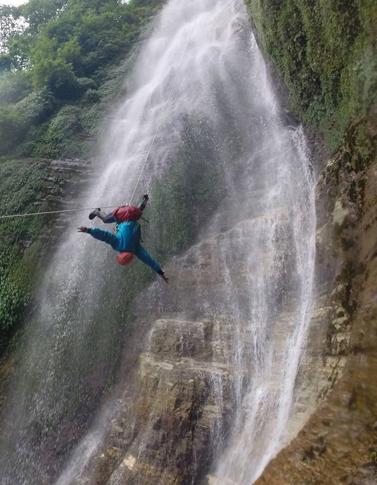 Pokhara_ pokhara canyoning ram gurung