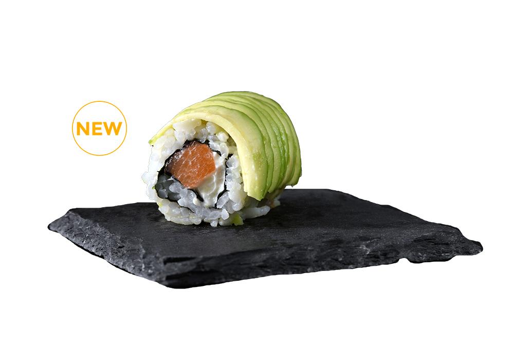 avocado saumon cheese