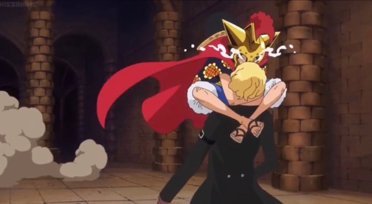 One Piece Arc Sabo and Luffy