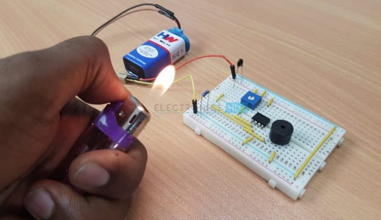 Simple Fire Alarm Circuits at Low Cost   NEOTECH