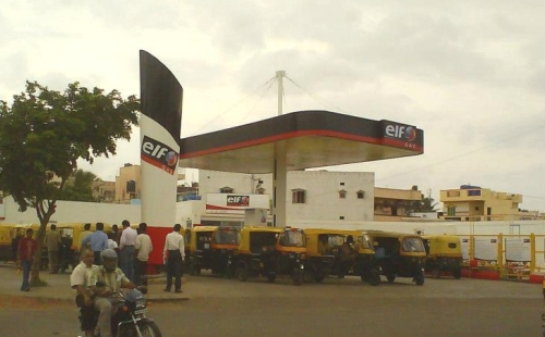 Elf Gas Station Neoteric Communications Kedar Betgeri