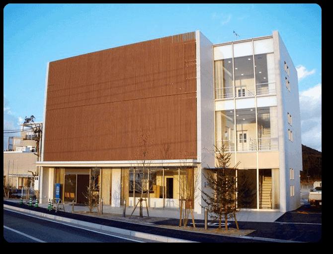 Fachada ventilada en madera tecnológica para exterior - Neoture